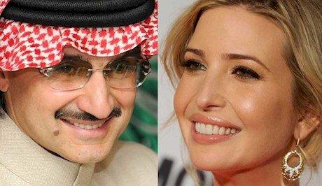 شاهزاده سعودی: با دختر ترامپ دوست هستیم