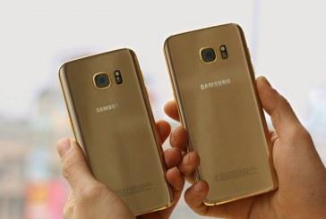 نگاهی به سامسونگ گلکسی S8 طلایی +تصویر