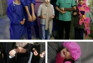 کودکان قربانی اسیدپاشی امروز تهران +تصویر