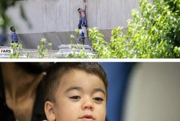 کودک نجات یافته از حمله تروریستی مجلس کیست؟ +تصویر