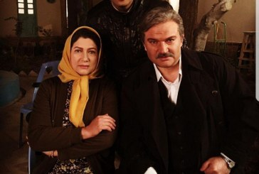 هاشم و پسرش و همسرش در پشت صحنه «شهرزاد» +تصویر