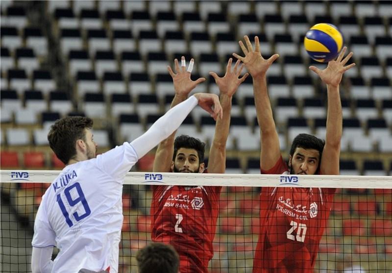 والیبال ایران حریف روس ها هم نشد