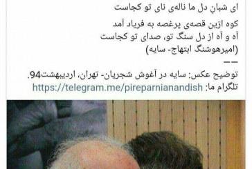 تکذیب شایعه وخامت حال شجریان +تصویر