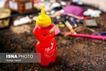 ابتکار یک معتاد برای مصرف مواد! +تصویر