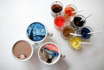 آثار نقاشان بزرگ روی کافه لاته! +تصاویر