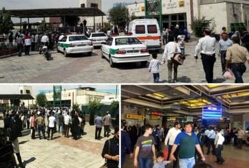 جزییات تیراندازی در مترو شهرری به دلیل نزاع +تصاویر و فیلم