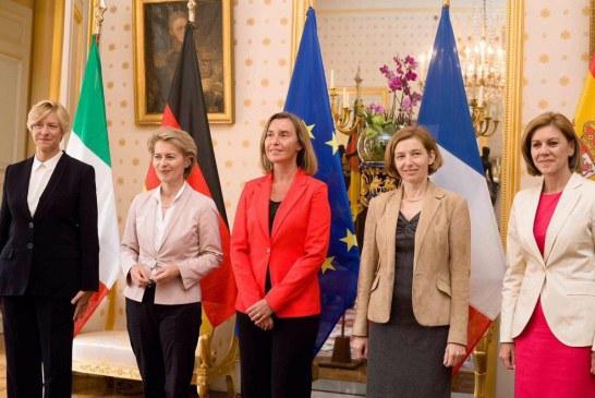 وزارت دفاع اروپا در دست زنان +تصویر
