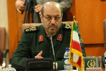 وزیر دفاع: هرگز مقابل دشمن کوتاه نخواهیم آمد