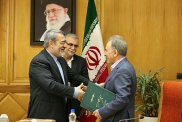 نجفی حکم شهرداری خود را از وزیر کشور گرفت