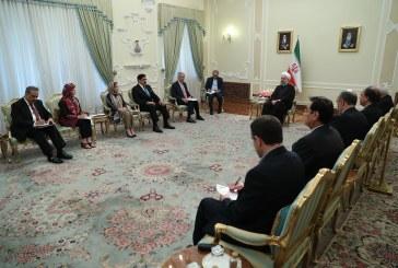رییس جمهور در دیدار وزیر خارجه پاکستان: تهران مصمم به توسعه روابط اقتصادی، فرهنگی و سیاسی با اسلام آباد است