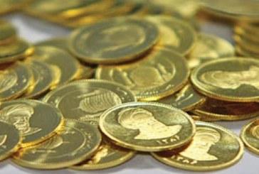 قیمت سکه ۱۳ هزار تومان کاهش یافت