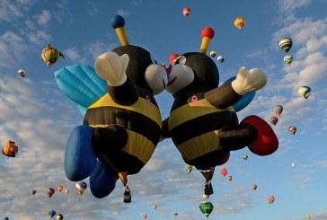 جشنواره بین المللی بالن در شهر آلبوکرک ایالت نیومکزیکو آمریکا