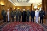 رییس جمهور:دولت به حمایت از نیروی مسلح ادامه میدهد