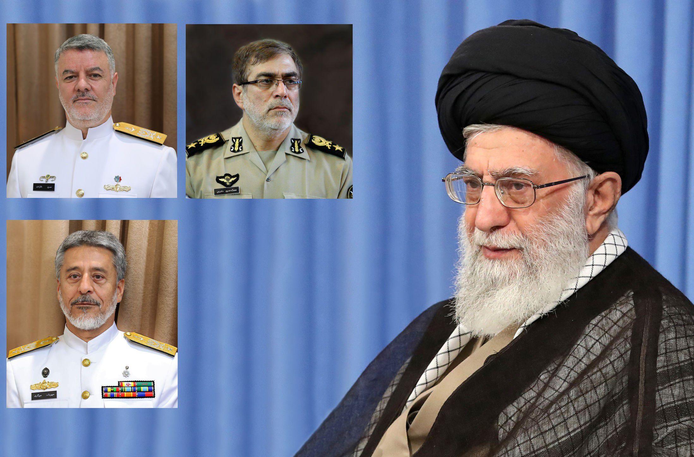 با حکم فرمانده کل قوا سه انتصاب جدید در ارتش جمهوری اسلامی ایران انجام شد