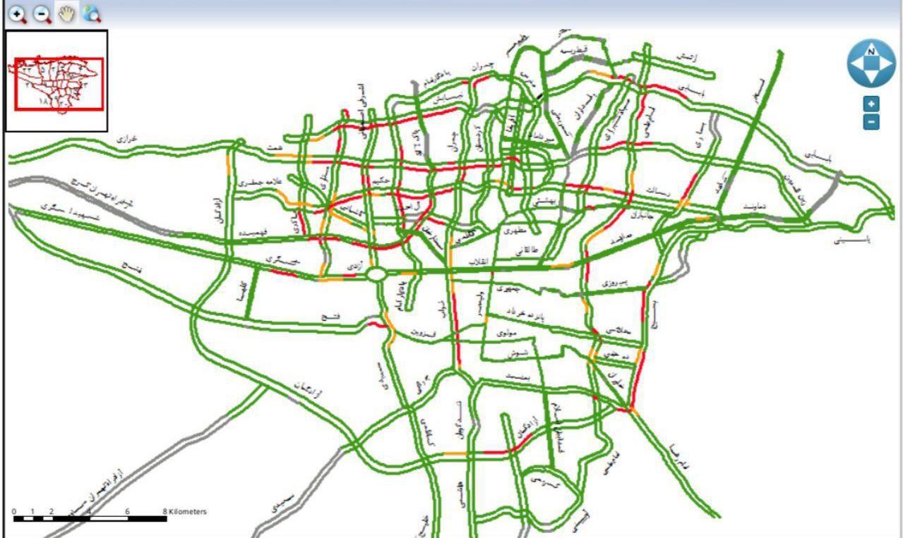 شرایط جدید طرح ترافیک در سال ۹۷