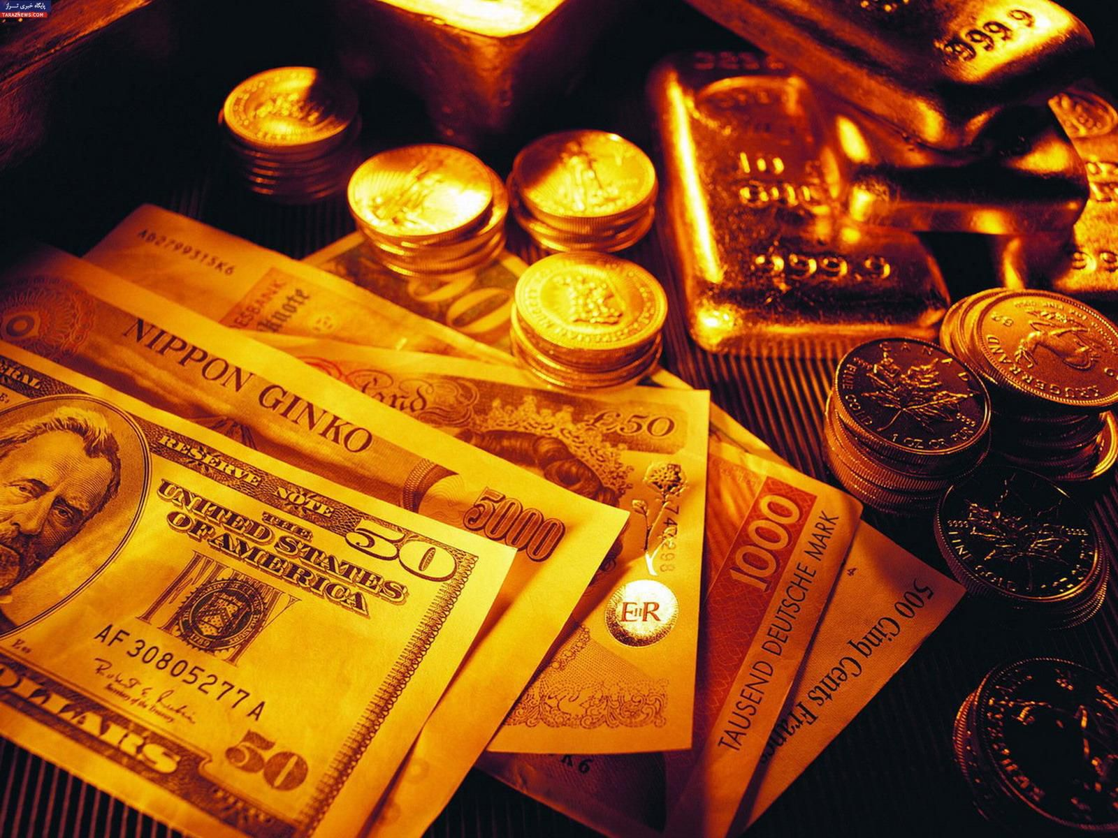 قیمت طلا، سکه و ارز در اولین روز بهمن