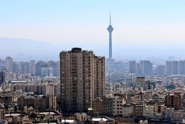 وزش باد شدید در تهران/آخرین وضعیت هوای پایتخت