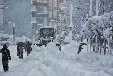 بارش برف و باران در اکثر مناطق کشور