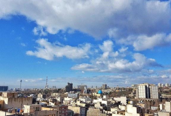 هوای تهران در شرایط «سالم» است