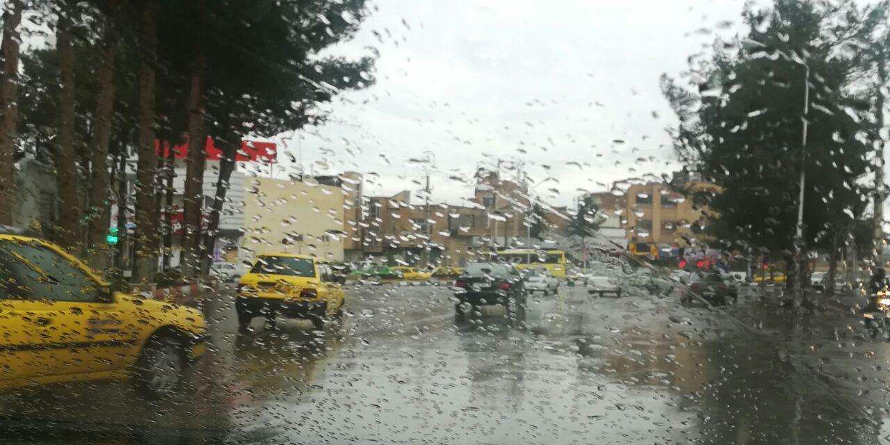 بارش باران از پنجشنبه