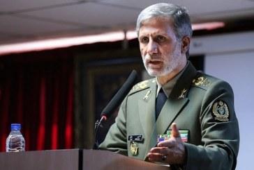 وزیر دفاع: تمامی سعی مان تقویت قدرت دفاعی و بازدارندگی ایران است