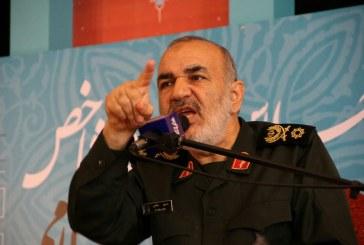 سردار سلامی: هر جنگی شروع شود محو اسرائیل را در پی دارد