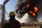 آتشسوزی در پتروشیمی آبادان