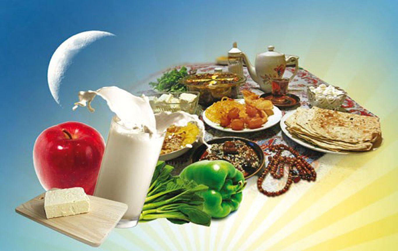 توصیه های غذایی برای وعده سحری