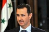 دیدار اسد با زنان آزاد شده از اسارت تروریست ها