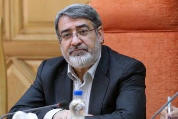 دستور وزیر کشور درمورد بررسی حادثه ایرانشهر