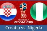 پیروزی کرواسی مقابل نیجریه