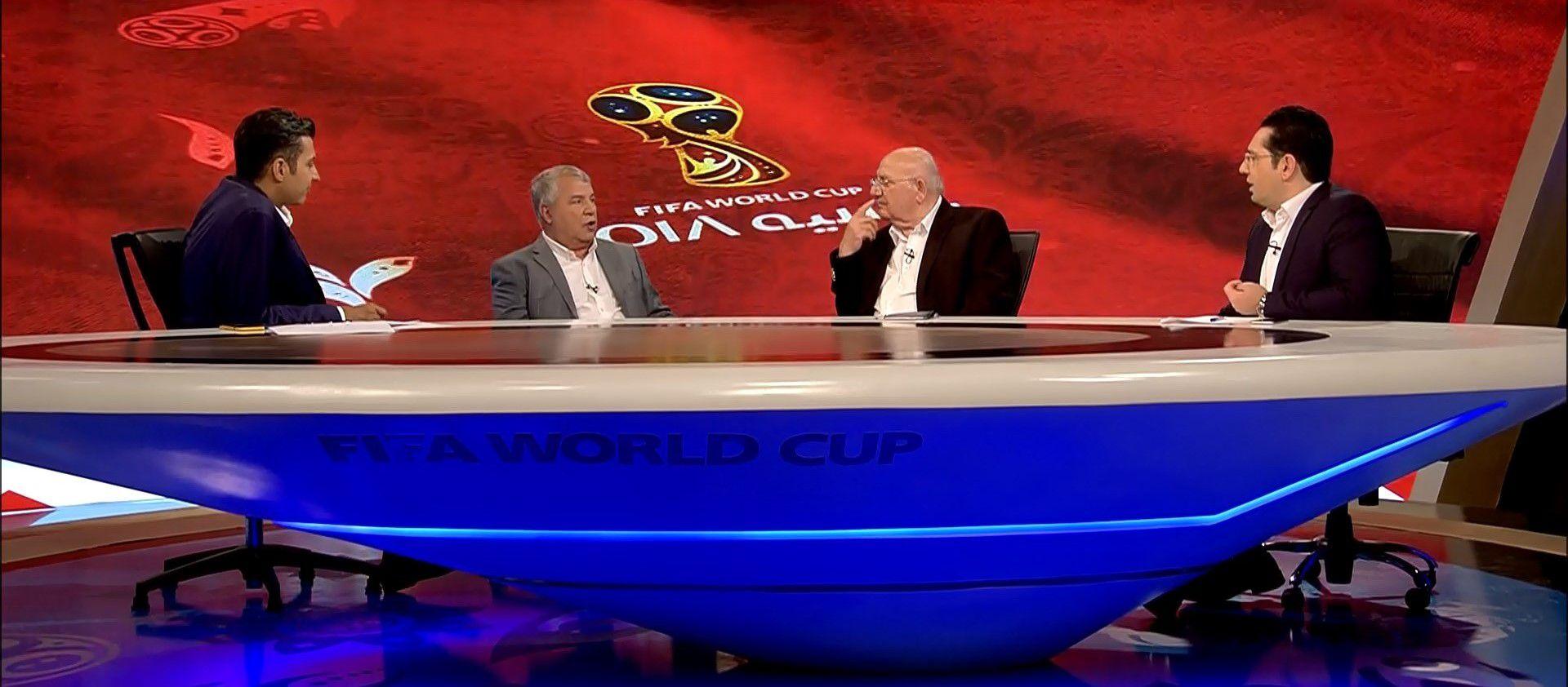 ویژه برنامه جام جهانی ۲۰۱۸ به تهیه کنندگی عادل فردوسی پور+نرم افزار
