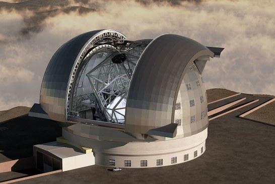 ساخت بزرگترین تلسکوپ دنیا