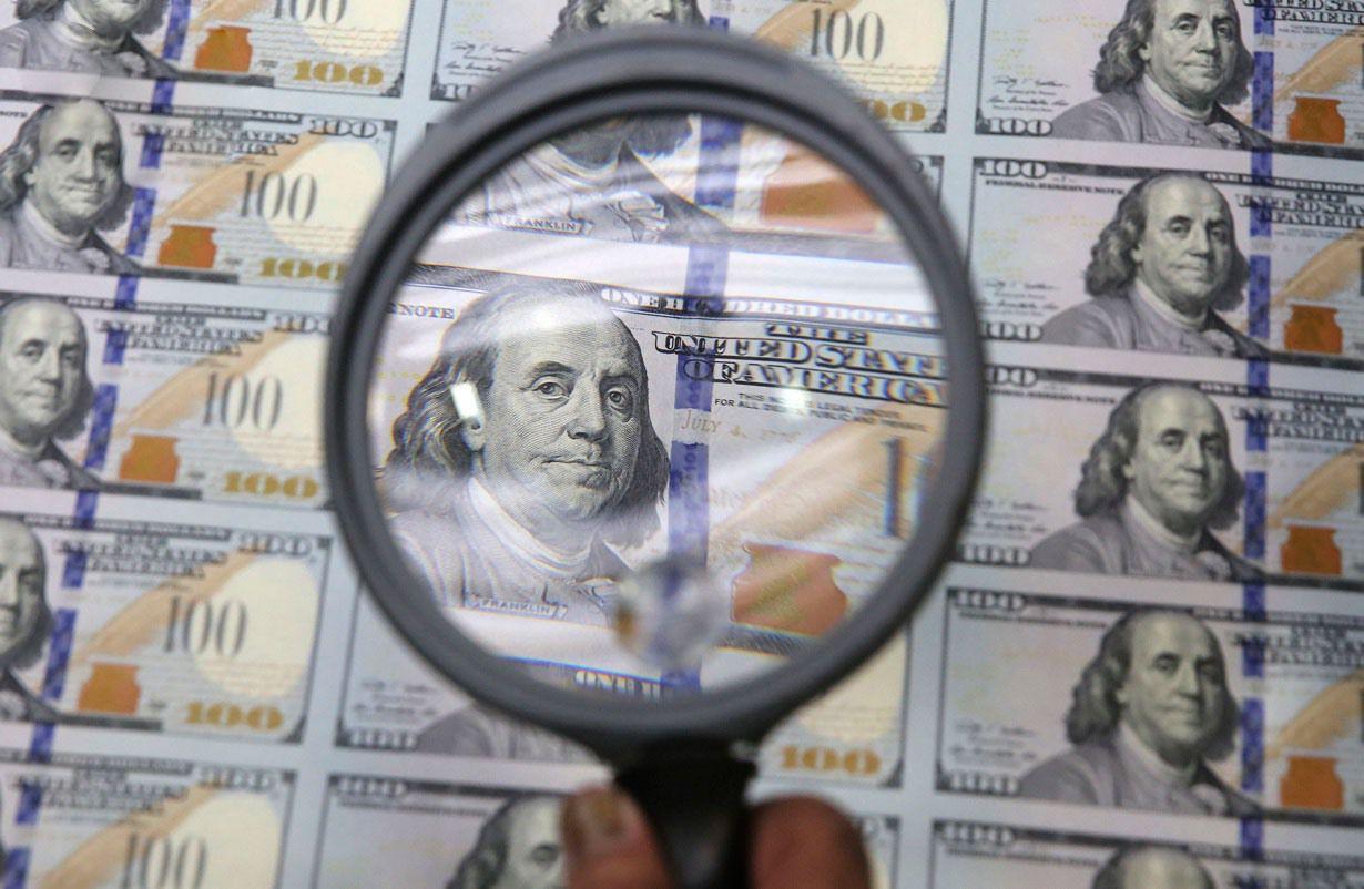 دلار روی ریل نزول