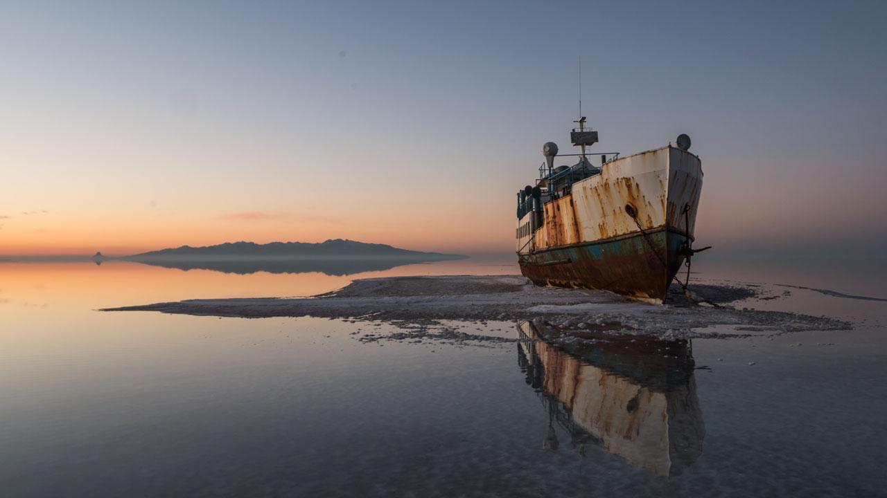 اندر احوال دریاچه ارومیه + ویدیو
