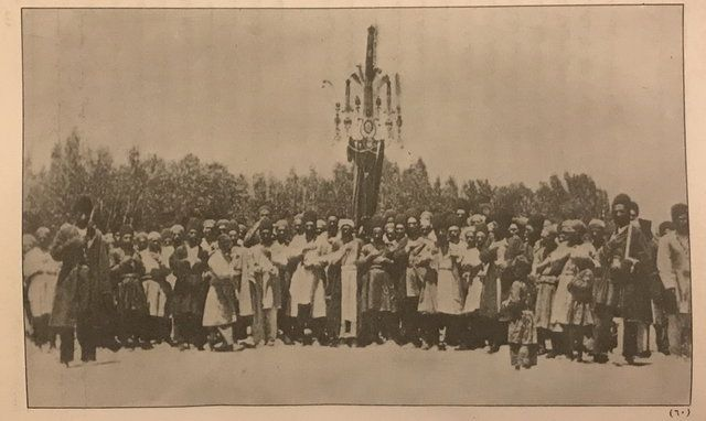 مراسم علم گردانی