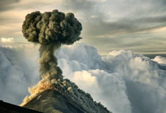 نمایی متفاوت از آتشفشان فوئهگو + تصویر