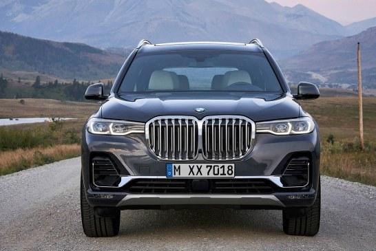 BMW بالاخره از مدل جدید X7 رونمایی کرد+تصاویر
