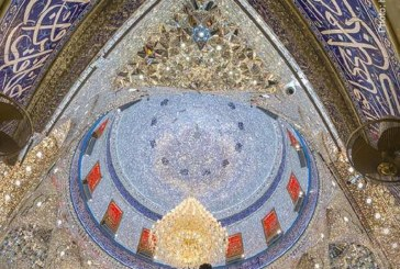 تصویری زیبا از حرم حضرت عباس (ع)