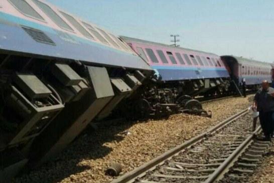 خروج قطار قزوین – تهران حادثه آفرید