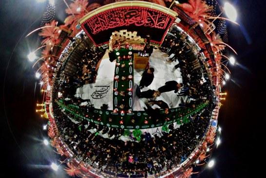 بزرگترین سفره حضرت رقیه سلام الله علیها در بین الحرمین + تصاویر