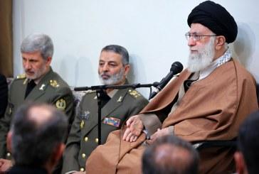 نیروی دریایی ارتش مظهر اقتدار ملت ایران در دریا باشد
