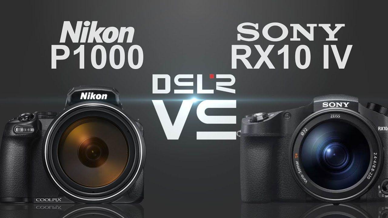 مقایسه دو غول سوپر زوم Nikon P1000 با Sony RX10 IV + ویدیو