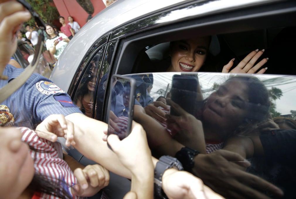 ملکه زیبایی فیلیپینی سال 2018 جهان + تصویر