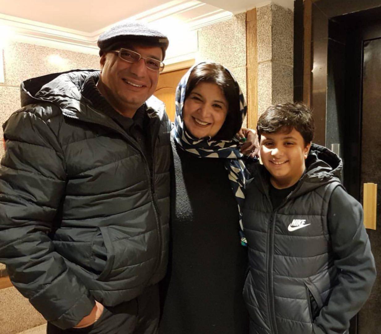 امیر جعفری و عضو جدید خانواده + تصویر