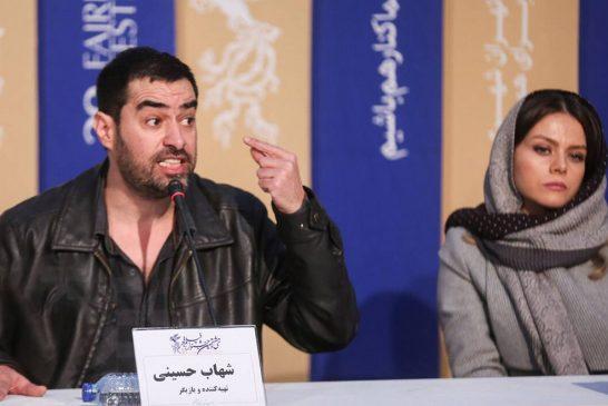 گرد و خاک شهاب حسینی برای دفاع از خود و سرزمینش