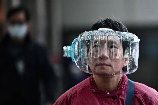 کمیاب شدن ماسک در چین + تصویر
