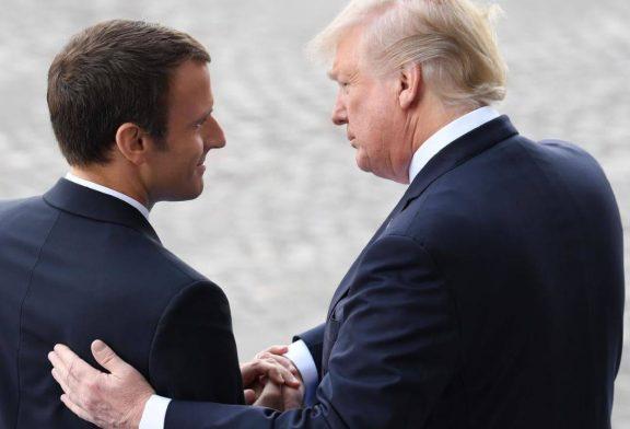 ترامپ و ماکرون توافق کردند