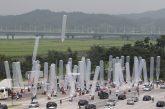 بالون های باد شده در کره شمالی نشانه چیست ؟
