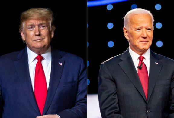 اختلاف بایدن و ترامپ ۴ درصد شد
